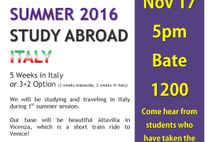 Study Abroad 2016 11x17 OPEN HOUSE