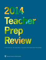 NCTQ 2014 Teacher Prep Review