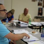 Instructor Jose Gregory of Dunwoody, GA, leads the AP US History session during the 2016 APSI.