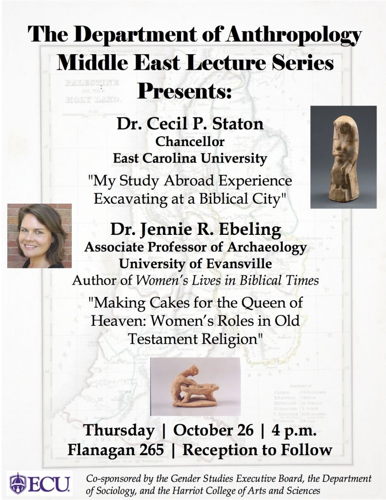 Ebeling Biblical Archeology Lecture