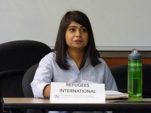 Ankita - Refugees International