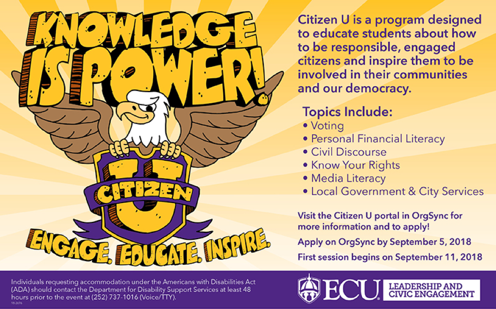 how to be an engaged citizen